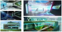 Imágenes del juego con las los usuarios ahorraran energia con EnerGaWare
