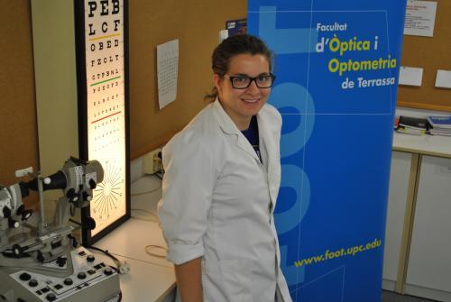 Raquel Garrido, estudiant de la FOOT