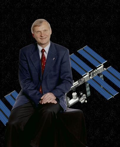 Ernst Messerschmid fue uno de los tripulantes del l'STS61A-Challenger