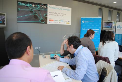 Empresaris i investigadors de la UPC connectats