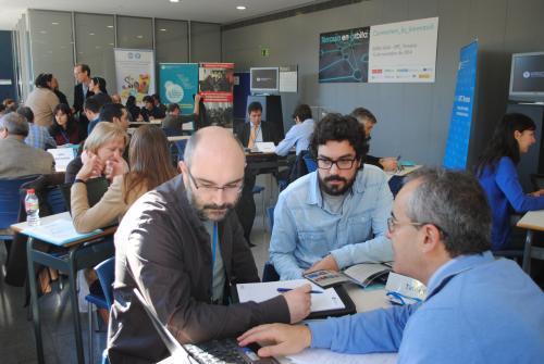 Empresaris i investigadors connectats a la UPC