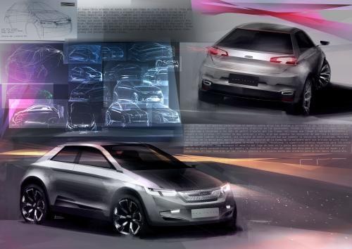Diseño de Jan Freixa para el futuro del SEAT Ibiza