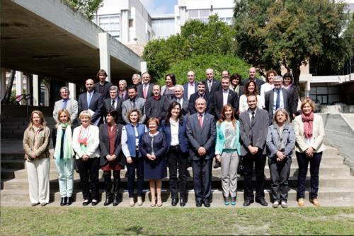 Los firmantes de la Declaración para la segunda reindustrialitzación del Vallès