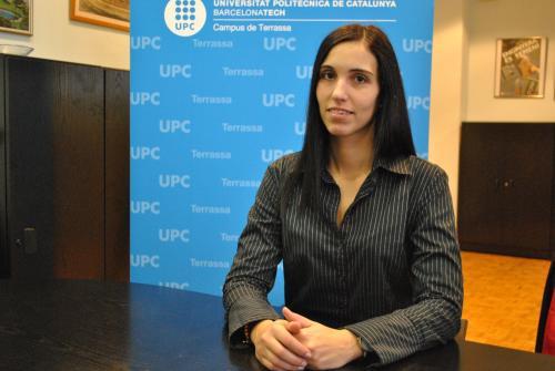 Gisela Detrell, autora de la tesi doctoral que garantizará la supervivencia en misiones espaciales de larga duración