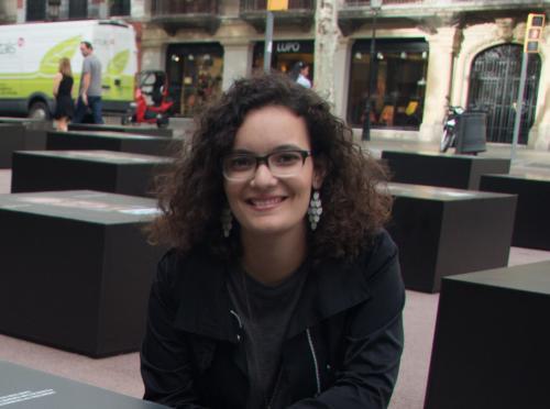 Marta Rexachs, ganadora del primer premio al Talento Joven de la Fundación Textil Algodonera