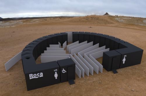 Propuesta finalista de lavabos portátiles de los estudiantes de la EET Guillermo Fosalba y Fermín Monreal